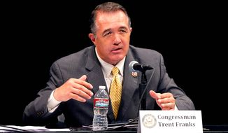 "Republican Reps. Trent Franks, Matt Salmon and David Schweikert wrote a letter to Secretary of Veterans Affairs Eric Shinseki on Tuesday, citing reports that officials at the Phoenix Veterans Health Care System had kept a ""secret list"" of patient requests in order to conceal the fact that some patients were being made to wait more. ""As a direct result of such practices, the deaths of over 40 veterans have come to light,"" they wrote in the letter. (associated press photographs)"