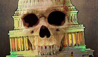 Skeleton Dome Illustration by Greg Groesch/The Washington Times
