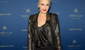 """FILE - In this Saturday, April 26, 2014 file photo, Gwen Stefani attends the one year anniversary celebration of Hakkasan Las Vegas, in Las Vegas. NBC announced on Tuesday, April 29, 2014, that Stefani will be a coach on """"The Voice"""" next season. Stefani will join Adam Levine, Black Shelton and another previously announced new coach, Pharrell Williams, on the singing contest's seventh edition. (Photo by Al Powers/Powers Imagery/Invision/AP, file)"""