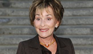 "FILE - In this April 17, 2012 file photo, Judge Judy Sheindlin attends the Vanity Fair Tribeca Film Festival party at the State Supreme Courthouse in New York. CBS said Wednesday, April 30, 2014, that Sheindlin will be the focus of a one-hour special in May 2014. ""Judge Judy Primetime"" will chart the 71-year-old Sheindlin's transition from a New York Family Court judge to the star of her top-rated courtroom show. (AP Photo/Evan Agostini, file )"