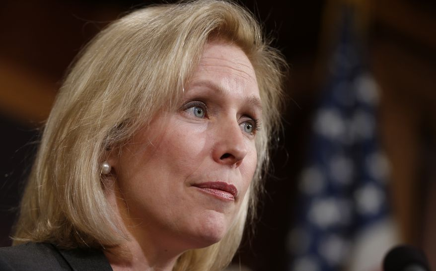 Sen. Kirsten Gillibrand will join Sens. Rand Paul and Corey Booker, to introduce marijuana legislation before the U.S. Senate. (AP Photo).