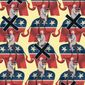 Illustration on GOP incumbents by Alexander Hunter/The Washington Times