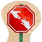 Stop Helping Sign Illustration by Greg Groesch/The Washington Times