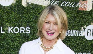 This Sept. 4, 2013, file photo shows Martha Stewart at the 2013 Couture Council Award Luncheon in New York. (Photo by Charles Sykes/Invision/AP, File)