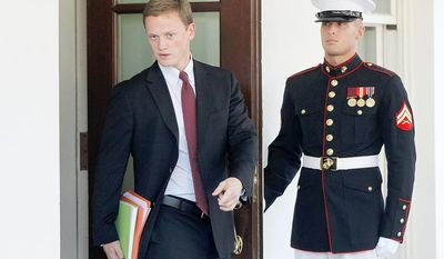 ** FILE ** Tommy Vietor, White House National Security Council spokesman.