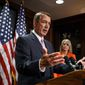 ** FILE ** House Speaker John A. Boehner. (Associated Press)