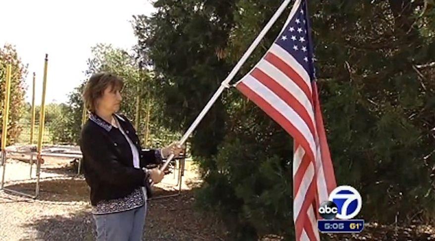 Georgine Scott-Codiga, president of the Gilroy-Morgan Hill Patriots. (ABC 7)