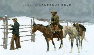 """This book cover image released by Liveright shows """"The Last Kind Words,"""" by Larry McMurtry. (AP Photo/Liveright)"""