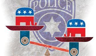 GOP Law Agenda Illustration by Greg Groesch/The Washington Times