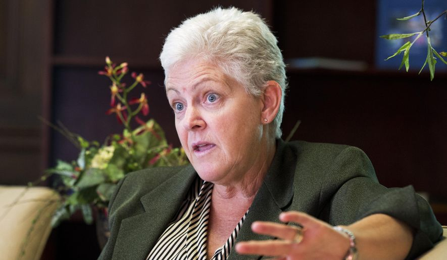 Gina McCarthy (Associated Press)
