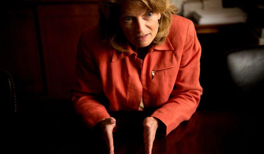 Sen. Lisa Murkowski (The Washington Times/File)