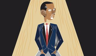Illustration on pressing President Obama for the truth on Benghazi by Linas Garsys/The Washington Times
