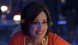 "This photo released by TriStar Pictures, AFFIRM Films/Provident Films shows Patricia Heaton in a scene from the family comedy, ""Moms' Night Out."" The movie releases in theaters nationwide Friday, May 9, 2014. (AP Photo/TriStar Pictures, AFFIRM Films/Provident Films, Saeed Adyani) ** FILE **"
