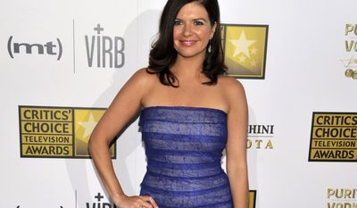 """FILE - This June 10, 2013 file photo shows actress Casey Wilson at the Critics' Choice Television Awards in Beverly Hills, Calif. Wilson and Ken Marino will star as two apparently star-crossed lovers in the NBC comedy """"Marry Me."""" (Photo by Chris Pizzello/Invision/AP, FIle)"""