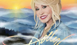 "This CD cover released by Sony shows ""Blue Smoke,"" by Dolly Parton. (AP Photo/Sony)"
