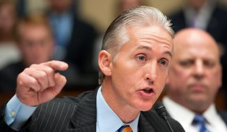 Rep. Trey Gowdy, South Carolina Republican (Associated Press) **FILE**