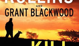 """This book cover image released by William Morrow shows """"The Kill Switch,"""" by James Rollins and Grant Blackwood. (AP Photo/William Morrow)"""