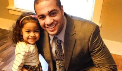 Isaac Kolstad, 24, is in critical condition after sustaining severe head injuries, his father said Sunday. He has a 3-year-old daughter and his wife is reportedly pregnant. (Isaac Kolstad via Twitter)