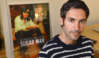"FILE - A Dec. 18, 2012 photo from files showing Swedish Academy Award-winning documentary filmmaker Malik Bendjelloul. Police in Sweden say the film director behind the Oscar-awarded music documentary ""Searching for Sugarman,"" Malik Bendjelloul died Tuesday, May 13, 2014. He was 36. Police spokeswoman Pia Glenvik said Bendjelloul died in Stockholm late Tuesday, but wouldn't specify the cause of death. She said no crime is suspected in relation to the Swedish film maker's death. (AP Photo/TT, Anders Wiklund, file)   SWEDEN OUT"