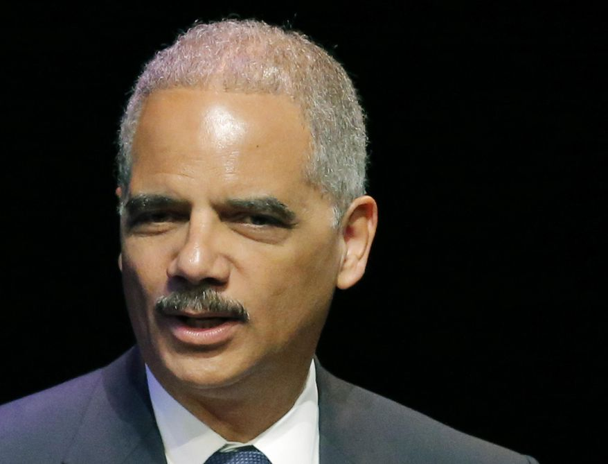 ** FILE ** Attorney General Eric Holder. (AP Photo/Orlin Wagner, File)