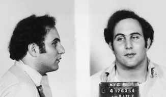 "** FILE ** David Berkowitz, a.k.a. the ""Son of Sam"" serial killer, has been skipping his parole hearings."