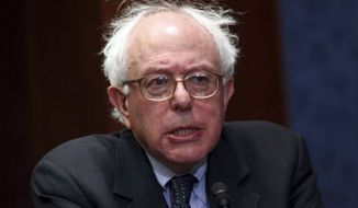 **FILE** Sen. Bernie Sanders, Vermont independent (Associated Press)