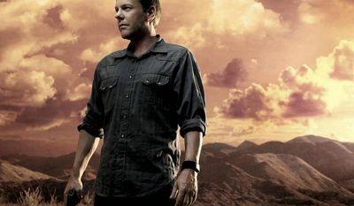 "Kiefer Sutherland as Jack Bauer in Fox's ""24."" (Anthony Mandler/FOX)"