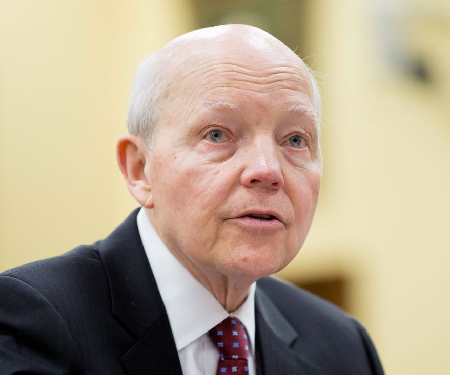 IRS Commissioner John A. Koskinen testifies on Capitol Hill April 7 before the House Appropriations Financial Services and General Government Subcommittee Budget hearing. (AP Photo)