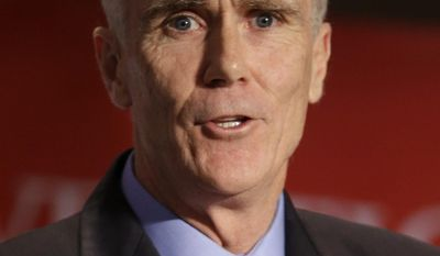 John Cahill, the Republican nominee for Attorney General, speaks during the New York State Republican Convention in Rye Brook, N.Y., Wednesday, May 14, 2014. (AP Photo/Seth Wenig)