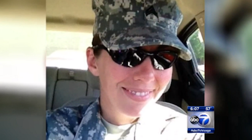 Sgt. Heidi Ruh, from Barrington, Illinois, was reportedly shot and killed at an Army base in Kosovo on Friday. (ABC 7)