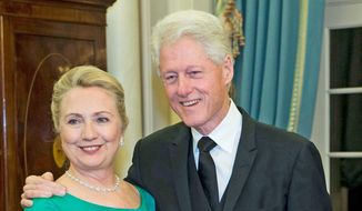 Hillary and Bill Clinton (Associated Press)
