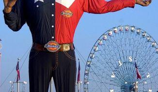 Big Tex at the Texas State Fair.