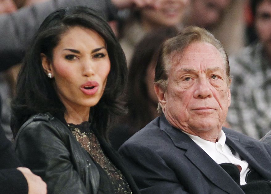 Modern technology may compromise basic freedoms, says Logan Delany, citing Donald Sterling's loss of his L.A. Clippers after V. Stiviano publicized recordings of racist remarks made in private. (AP Photo/Danny Moloshok)