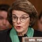 "** FILE ** Sen. Dianne Feinstein, California Democrat, has characterized the new House select committee tasked with investigating the Sept. 11, 2012, attack on the U.S. diplomatic post in Benghazi, Libya, as ""a hunting mission for a lynch mob."" Democrats have yet to decide if they will appoint any members to the panel. (Associated Press)"