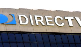 ** FILE ** This Aug. 8, 2006, file photo shows the DirecTV building in El Segundo, Calif. (AP Photo/Reed Saxon, File)