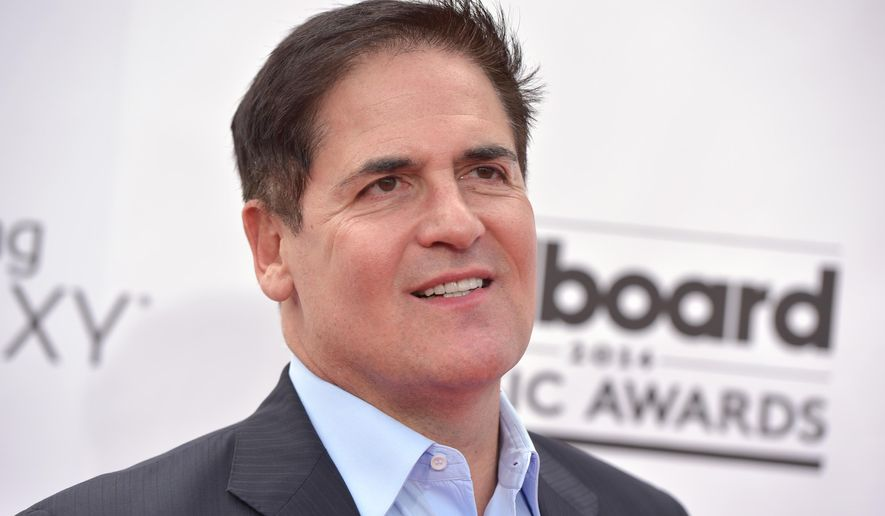 Mark Cuban arrives at the Billboard Music Awards at the MGM Grand Garden Arena on Sunday, May 18, 2014, in Las Vegas. (Photo by John Shearer/Invision/AP) ** FILE **