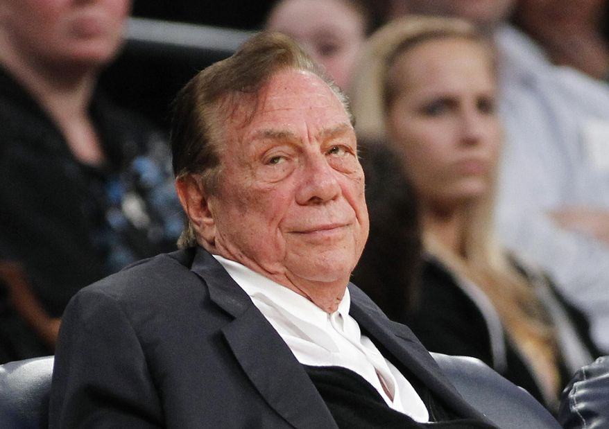 ** FILE ** This Dec. 19, 2011, file photo shows Los Angeles Clippers owner Donald Sterling watching the Clippers play the Los Angeles Lakers during an NBA preseason basketball game in Los Angeles.  (AP Photo/Danny Moloshok, File)