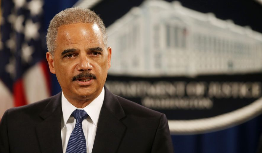 """I have repeatedly made clear that profiling by law enforcement is not only wrong, it is profoundly misguided and ineffective,"" said Attorney General Eric H. Holder Jr.. ""Particularly in light of certain recent incidents we've seen at the local level, and the widespread concerns about trust in the criminal justice process, it's imperative that we take every possible action to institute strong and sound policing practices."" (Associated Press)"