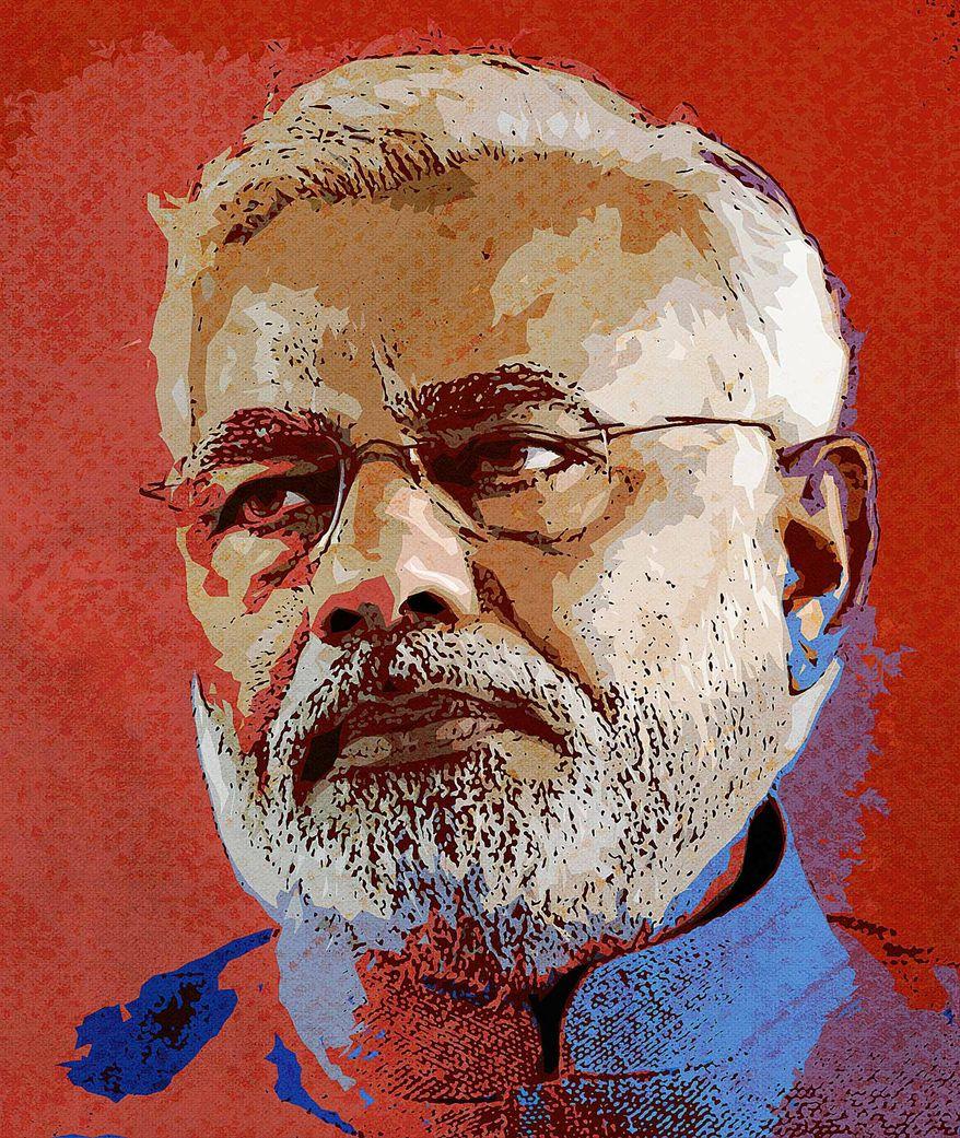 Narendra Modi Photo-Illustration by Greg Groesch/The Washington Times