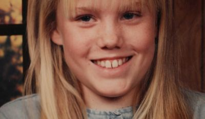 FILE - This is an undated file family photo released Aug. 27, 2009 by Carl Probyn of his stepdaughter, Jaycee Lee Dugard who went missing in 1991. Dugard was abducted in June 1991 on her way to school in South Lake Tahoe, California. Then 11, she was held for 18 years by Phillip and Nancy Garrido. She was raped repeatedly by Garrido and gave birth to two daughters. Dugard was freed in 2009 after she and her two children appeared in public with him and a police interrogation revealed her identity. Convicted of kidnapping and rape, Garrido was sentenced to 431 years in prison. His wife received a sentence of 36 years to life.  (AP Photo/Carl Probyn, File)