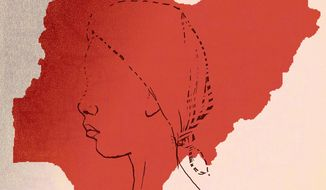Illustration on Boko Haram's kidnapping girls in Nigeria by Paul Tong/ Tribune Content Agency