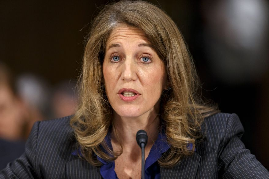 President Obama selected Sylvia Mathews Burwell — then his White House budget chief — to replace Kathleen Sebelius, who announced in April that she would step down after the flawed rollout of the federal exchange system, HealthCare.gov. (associated press)