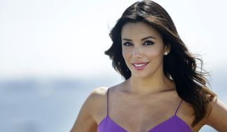 Actress Eva Longoria poses for a portrait at the 67th international film festival, Cannes, southern France, Sunday, May 18, 2014. (AP Photo/Thibault Camus)