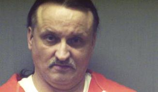 FILE - This undated inmate file photo released by the Connecticut Department of Correction shows Richard Roszkowski. Roszkowski was convicted in 2009 of killing his 39-year-old ex-girlfriend, Holly Flannery, her 9-year-old daughter, Kylie, and 38-year-old Thomas Gaudet. Police said Roszkowski falsely believed Flannery and Gaudet were romantically involved. A state judge in Bridgeport is expected to impose the death penalty Thursday May 22, 2014 on the 49-year-old former Trumbull resident. (AP Photo/Connecticut Department of Correction)