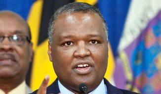 **FILE** Prince George's County Executive Rushern L. Baker III. (The Washington Times)