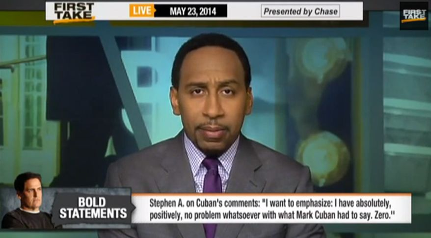 Stephen A. Smith (Image: ESPN screenshot)