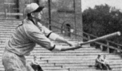 'Something else' Elmer Gedeon planned to return to baseball if he was still playing age when the war ended, but he was killed in 1944 when his plane was shot down over France. (University of Michigan Bentley Historical Library)