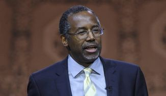 Dr. Ben Carson is contemplating a 2016 presidential run. (Associated Press)