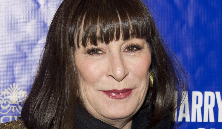 """In this Dec. 11, 2011 file photo, Anjelica Huston attends the opening night performance of the Broadway musical """"On A Clear Day You Can See Forever"""" in New York. Ms. Huston has expressed her support for a proposed New York City ban on sale of animal furs. (AP Photo/Charles Sykes, file)"""