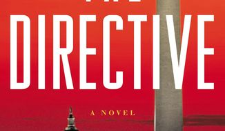 "This book cover image released by Little, Brown and Company shows ""The Directive,"" by Matthew Quirk. (AP Photo/Little, Brown and Company)"